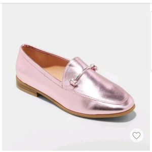 A New Day Perry Wide-Width Metallic loafers